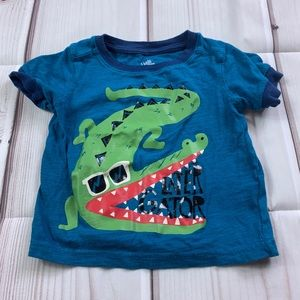 Kids korner alligator top